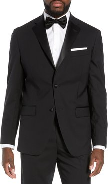 Trim Fit Stretch Wool Dinner Jacket