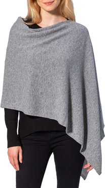 AMICALE Cashmere Solid Knit Poncho at Nordstrom Rack