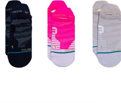 Watch Me Assorted 3-Pack Tab Ankle Socks