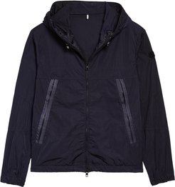 Scie Nylon Hooded Windbreaker