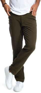 All-In Stretch Cotton Five-Pocket Pants