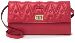 MARIO VALENTINO Grace Leather Convertible Crossbody Clutch at Nordstrom Rack