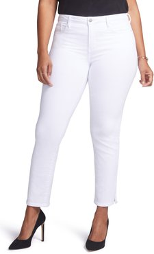 Plus Size Women's Curves 360 By Nydj Slim Straight Leg Ankle Jeans