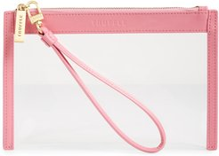 Clarity Clear Wristlet -
