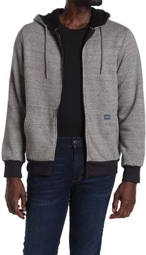 Report Collection Long Sleeve Lined Faux Shearling Hoodie at Nordstrom Rack
