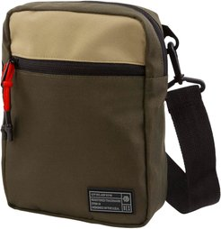 Aspect Water Resistant Canvas Crossbody Pouch - Green