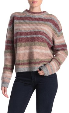 360 Cashmere Ember Striped Wool & Cashmere Sweater at Nordstrom Rack