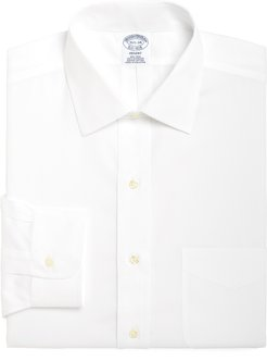 Big & Tall Brooks Brothers Regular Fit Solid Dress Shirt