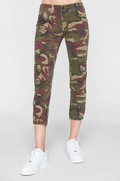 PAM AND GELA Camo Cargo Crop Joggers at Nordstrom Rack