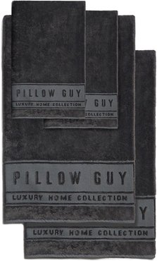 Pillow Guy Charcoal Ultimate Hand & Bath Towel 4-Piece Bundle at Nordstrom Rack