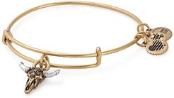 Alex and Ani Spirited Skull Charm Expandable Wire Bracelet at Nordstrom Rack