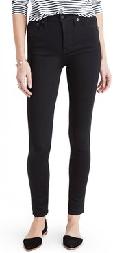 Plus Size Women's Madewell 10-Inch High Rise Skinny Jeans