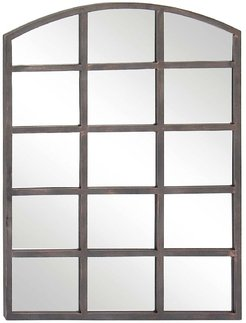 Willow Row Clear Modern Arched Window Paneled Wall Mirror at Nordstrom Rack