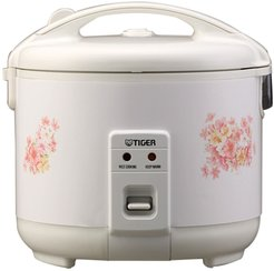 TIGER JNP-1000-FL 5.5-Cup (Uncooked) Rice Cooker and Warmer, Floral White at Nordstrom Rack