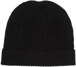 Quinn Cable Stitched Cashmere Beanie at Nordstrom Rack