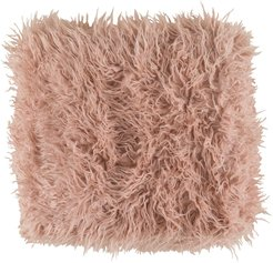 SURYA HOME Blush Kharaa Hide, Leather & Faux Fur Throw at Nordstrom Rack