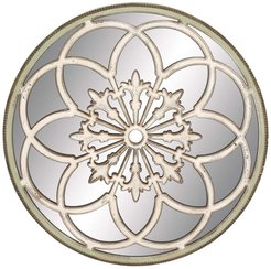 Willow Row Deco Round Wall Mirror at Nordstrom Rack