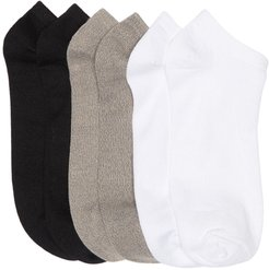 K Bell Socks Soft and Dreamy Solid Socks - Pack of 6 at Nordstrom Rack