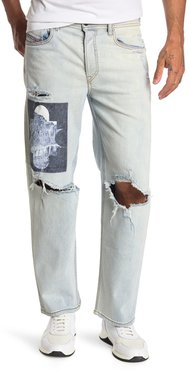 Diesel Dagh Distressed Straight Leg Jeans at Nordstrom Rack