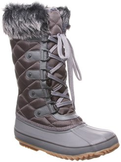 BEARPAW McKinley Faux Fur & Genuine Sheepskin Waterproof Quilted Boot at Nordstrom Rack