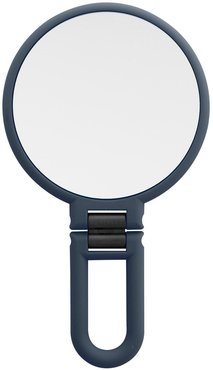 UPPER CANADA SOAPS Danielle Soft Touch Hand Held Foldable Mirror - Navy at Nordstrom Rack