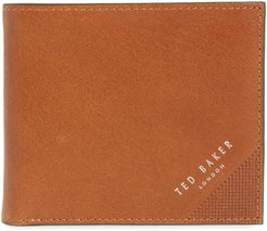 Prug Leather Bifold Wallet - Brown