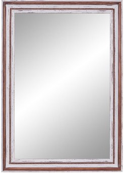 """Willow Row Deep Brown Rectangular Wood Wall Mirror - 32""""W x 44""""H at Nordstrom Rack"""