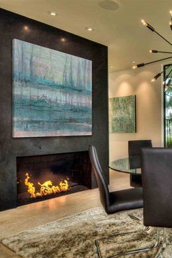 """Marmont Hill Inc. Memories IV Painting Print on Wrapped Canvas - 40""""x40"""" at Nordstrom Rack"""