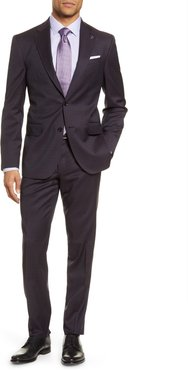 Ted Baker London Jay Trim Fit Plaid Wool Suit at Nordstrom Rack