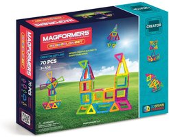 Toddler Magformers 'Creator' Neon Magnetic 3D Construction Set