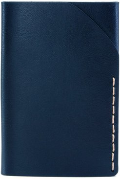 No. 2 Leather Card Case - Blue