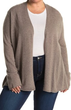 GRIFFEN CASHMERE Long Sleeve Open Front Cashmere Cardigan at Nordstrom Rack