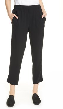 Eileen Fisher Tapered Ankle Pant With Side Seam at Nordstrom Rack