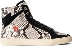 Zv1747 Flash High Top Sneaker