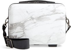 Hard Side Cosmetics Case Marble