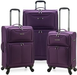 Traveler's Choice Cedar 3-Piece Expandable Softside Spinner Luggage Set at Nordstrom Rack