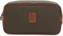 Boxford Canvas & Leather Cosmetics Case