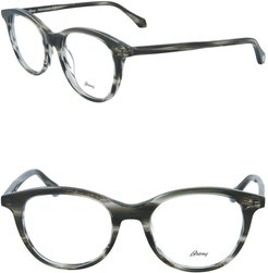 Brioni 49mm Core Round Optical Frames at Nordstrom Rack