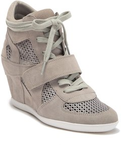 Ash Bowie Suede Perforated Wedge Sneaker at Nordstrom Rack