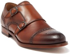 Antonio Maurizi Leather Double Monk Strap Loafer at Nordstrom Rack