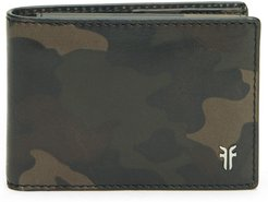 Holden Leather Passcase Wallet - Green
