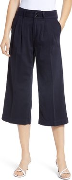 Clarice Pleated Culotte Pants