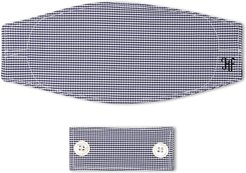 Adult Gingham Mask & Filter Set