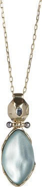 Future Antiquity Octagon Hinged Pendant Necklace
