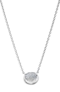 Ippolita Sterling Silver Onda Single Necklace with Diamond - 0.13 ctw at Nordstrom Rack