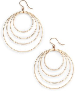 Quadrant Hoop Earrings