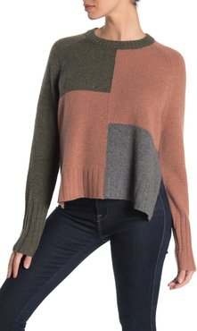 360 Cashmere Hailey Colorblock Cashmere Sweater at Nordstrom Rack