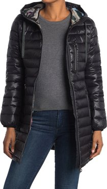 NOIZE Saskia Lightweight Quilted Coat at Nordstrom Rack