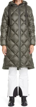 Duroc Water Resistant Hooded Lightweight Down Puffer Coat