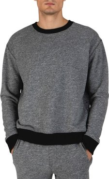 ATM Anthony Thomas Melillo Ribbed French Terry Knit Sweater at Nordstrom Rack